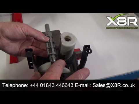 Spare wheel carrier gear repair