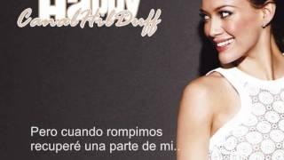 Hilary Duff - Happy (español)