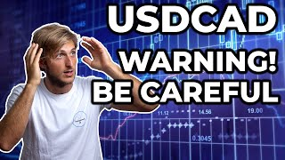 SWING TRADING: USDCAD - We MUST Be Careful!
