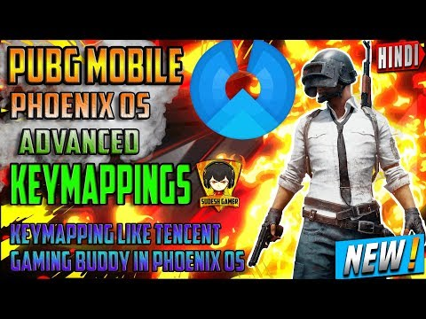 Phoenix OS Gaming Version Pubg Mobile Gameplay + Key Mapping