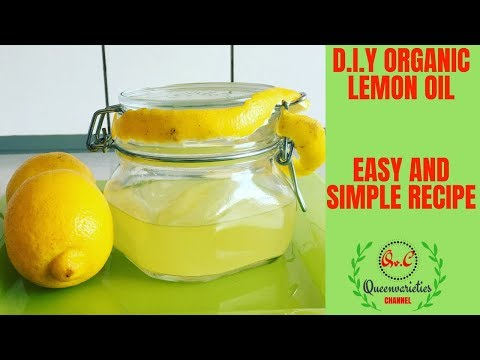 HOW TO MAKE LEMON ESSENTIAL OIL FOR SKIN / DIY LEMON OIL FOR LIGHTENING (BRIGHT) HAIR GROWTH