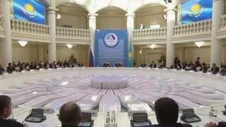 Назарбаев и Путин  что осталось за кадром в Атырау