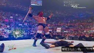 Triple h Vs. Edge Vs. John Cena Highlights - Backlash 2006 HD