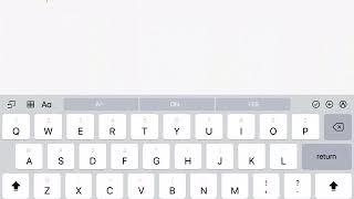 My iPad Keyboard Got Split In Half!