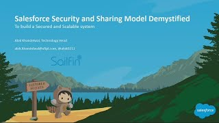 Salesforce Security and Sharing Model Demystified