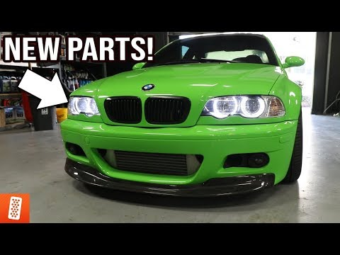 Installing Angel Eyes and Blackout mods on the E46 M3!