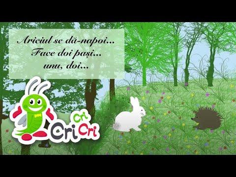 Cântece pentru copii - Iepurele si ariciul