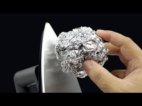 Utilizări neştiute ale foliei de aluminiu