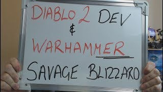 DIABLO 2 Dev & WARHAMMER Take Shots at BLIZZARD. Shill Media Takes Shots at GAMERS!!