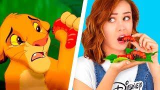 9 Sfida Tra Cibo Disney vs Cibo Pixar / Riprodurre I Migliori Cibi Dei Film