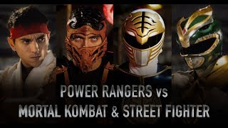 POWER RANGERS vs MORTAL KOMBAT & STREET FIGHTER - LIVE ACTION BATTLES