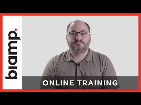 Biamp: Online Training - YouTube