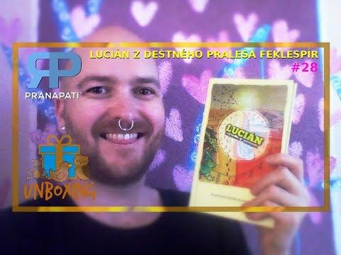 Unboxing #28 - kniha Lucián z deštného pralesa Feklespír