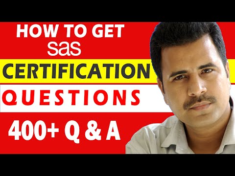 How to get SAS Certification Questions ? - YouTube
