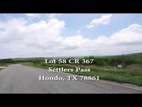Settlers Pass, Lot 58 Hondo TX 58 CR 367 78861