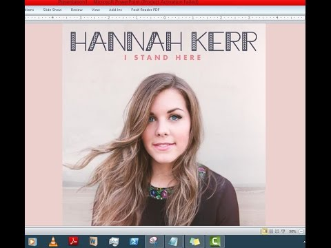 Hannah Kerr - I Stand Here (Lyrics)