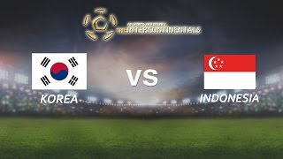[28.05.2016]  Korea vs Indonesia [The Intercontinentals]