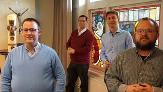 Priesterstudenten bisdom Rotterdam maken video voor Roepingenzondag