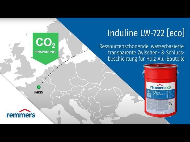 INDULINE LW-722 eco - pre drevohliníkové okná