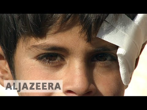 Syrian children suffer in camps, no relief in sight