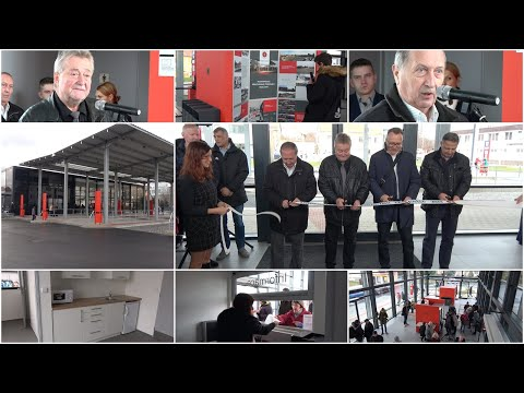 Slavnostní otevření přestupního terminálu v Sedlčanech