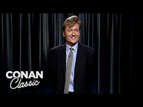 """The First Episode Of """"Late Night With Conan O'Brien"""""""