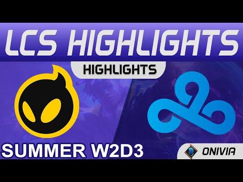 【LCS】DIG vs C9  Fudge關剪刀一剪二  Perkz李星調皮BM 2021 LCS夏季賽精華 Highlights
