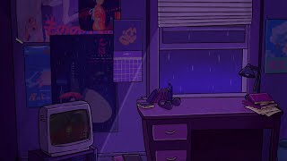 listening to lofi in your room at night
