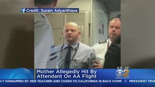 Woman Allegedly Hit On AA Flight