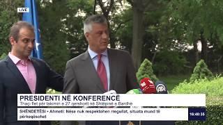 Drejtpërdrejt - Presidenti në konferencë 18.06.2020
