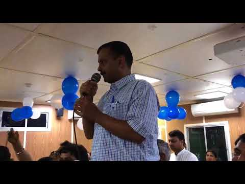 Delhi CM opts not to celebrate his bday due to critical health of Atal ji & the floods in Kerala