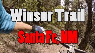 Clips of a super fun, shuttled ride down the Winsor trail!