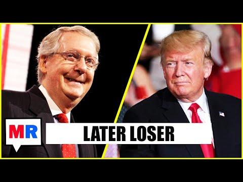 Mitch McConnell Dumps Trump On Fox