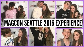 MAGCON BOYS FIGHTING INFRONT OF ME? // Magcon Seattle 2016 Experience ♡