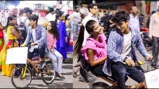 | PICKING UP H0T GIRLS WITH A MERCEDES CYCLE - PRANK | CANBEE LIFESTYLE |