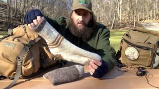 LL Bean Continental Rucksack - Winter Hammock Camping Load Out