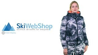 Dare2b, Downtime ski-jas heren, Trail Blaze rood (Ski kleding heren)
