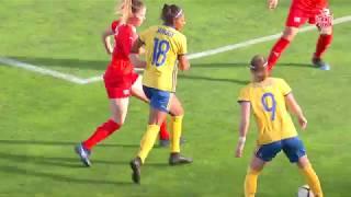 Algarve Cup 2019: Suécia 4-1 Suíça (Grupo D, Dia 1)