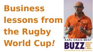 Business lessons from the Rugby World Cup