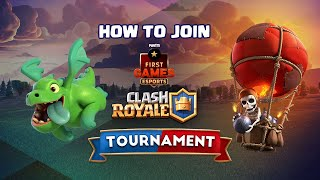 How To Join PFG Esports Clash Royale Tournament's Online Qualifiers?