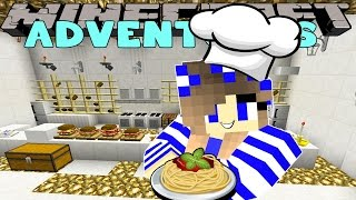 Minecraft-Little Carly Adventures-CHEF MARTY CALLS IN SICK!!