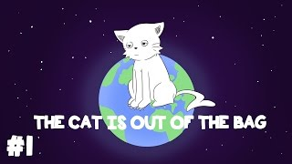 """Animated Where Does """"The Cat is Out of The Bag"""" Come From? - What's in a Word #1"""