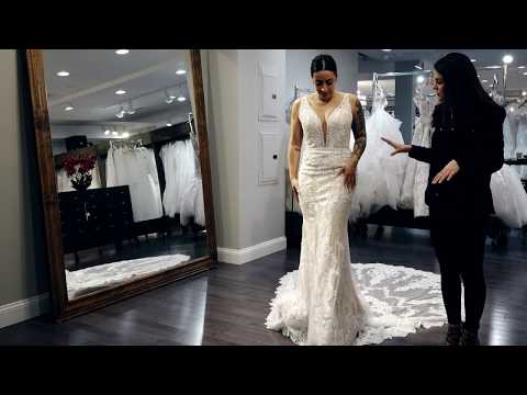 """""""Cheryl"""" by Kitty Chen Bridal Gown Real Review  Wedding Dress 