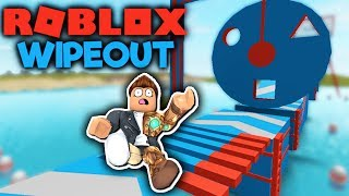 ROBLOX WIPEOUT: THE HARDEST OBSTACLE COURSE EVER!!