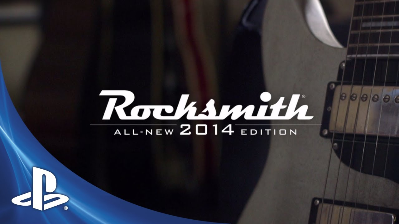 Rocksmith 2014 Edition Out Today on PS3