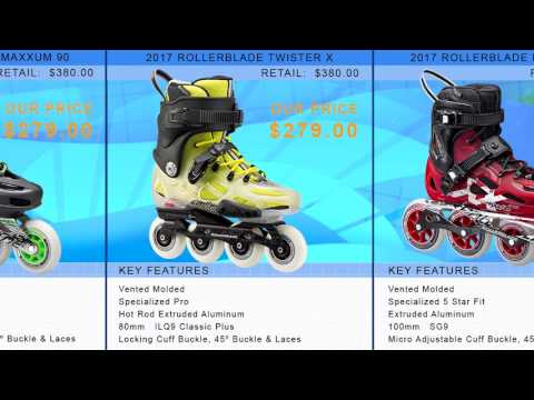 Video: 2017 Rollerblade Urban Inline Skate Buying Guide by InlineSkatesDotCom