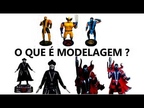 Introdução à Modelagem de Personagens com Massa (O QUE É MODELAGEM ? )