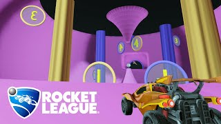 How one Rocket League pro comes up with insane maps