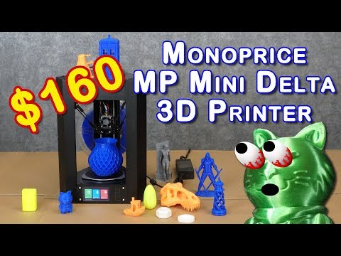 Monoprice MP Mini Delta Review – BEST INEXPENSIVE 3D PRINTER?