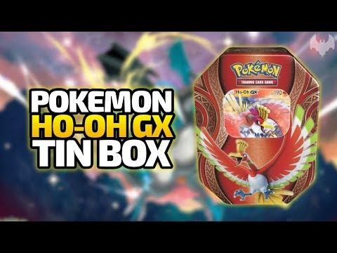 Ho-Oh GX Tin Box – Pokemon Trading Card Game – Deutsch German – Dhalucard